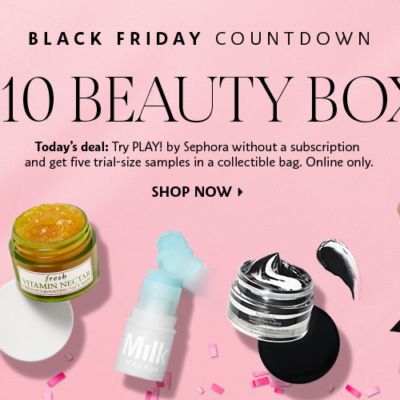 Play! by Sephora Black Friday Deal!