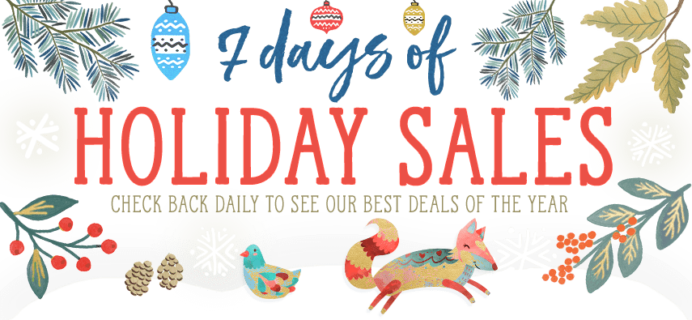 Vegan Cuts Pre Cyber Monday 7 Days of Holiday Sales: $25 Makeup Boxes From Vault!