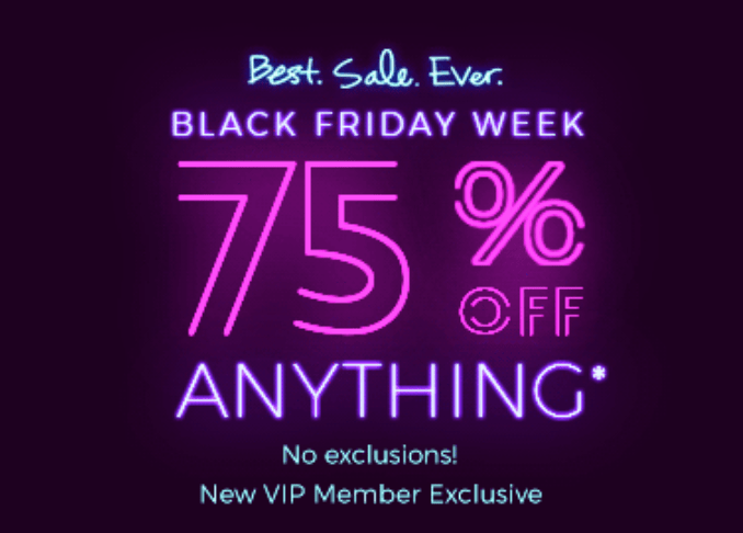 Fabletics Cyber Monday Week Sale: 75% Off First Purchase!