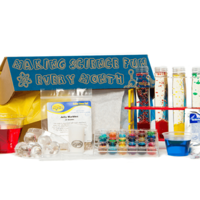 Spangler Science Club Deal: Save 40% on your first STEM Deluxe Box for 3 or 12 month subscription.