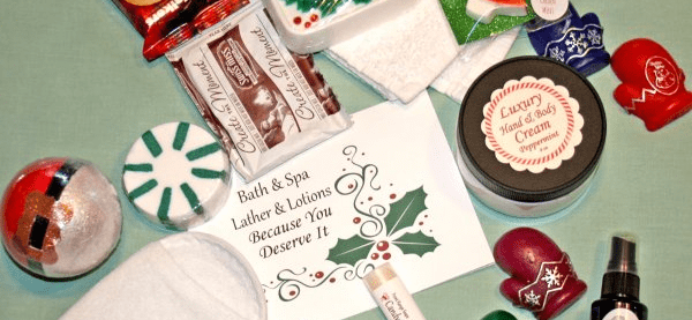 Bath & Spa – Lather & Lotions 2017 Black Friday Coupon: Save $10 on your first month!