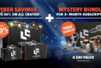 Loot Crate Black Friday Sale – 30% Off ALL Crates + Mystery Bundles for 3+ Month Subscriptions!