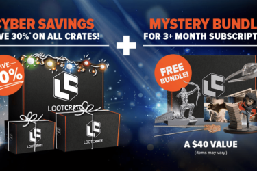 Loot Crate Black Friday Coupon – Save 30% + Mystery Bundles for 3+ Month Subscriptions!