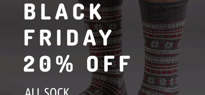Sock Fancy Black Friday Deal: 20% Off Subscriptions!