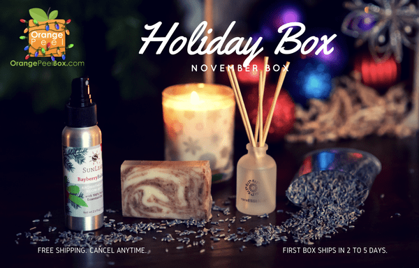 Orange Peel Box Black Friday 2017 Coupon: Take 20% Off Your First Box & $10 Off Gifts!