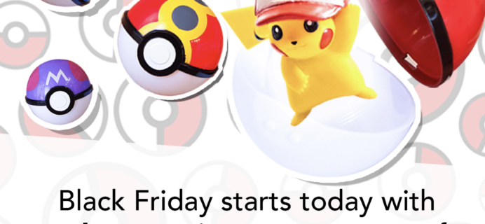 Japan Crate Black Friday Deal: Up to $40 Off + FREE Pokeballs!