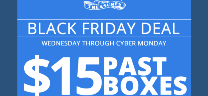 Disney Treasures Black Friday Sale! $15 Past Boxes for Subscribers!