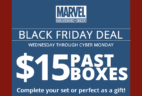 Marvel Collector Corps Black Friday Deal – Past Boxes $15!