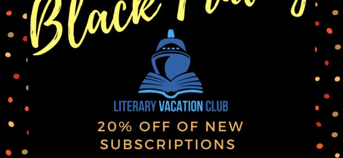 Literary Vacation Club 2017 Black Friday Deal: 20% Off Subscriptions!