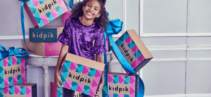Kidpik Cyber Monday Coupon Code: Save $20 On First Box + 30% Extra!