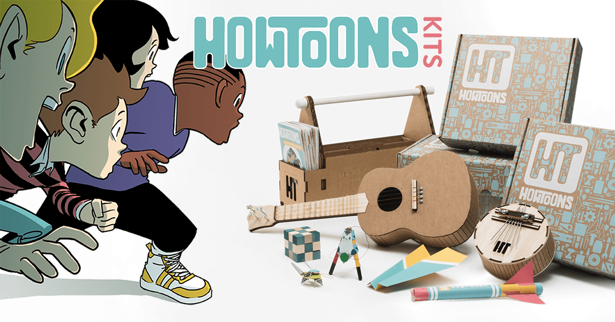 Howtoons Black Friday Deals – 60% Off First Month!