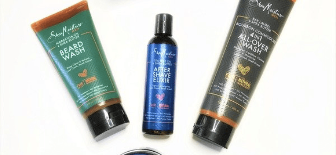Cocotique LE Box: COCOTIQUEMAN SheaMoisture Men's HOLIDAY Box Available now!