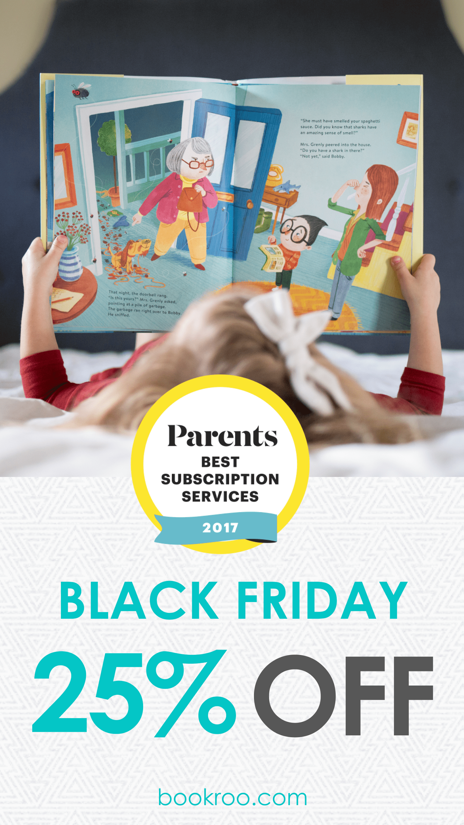 Bookroo 2017 Black Friday Deal: 25% Off!