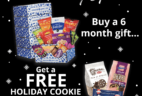 Universal Yums 2017 Black Friday Deal: Get a FREE Holiday Cookie Variety Pack with 6 month subscription!