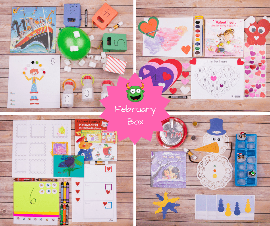 M is For Monster Black Friday Deal – Preschool in a Box Subscription Coupon!
