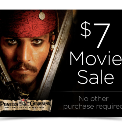Disney Movie Club Black Friday Member Sale + New Member 4 Movies for $1 Deal!