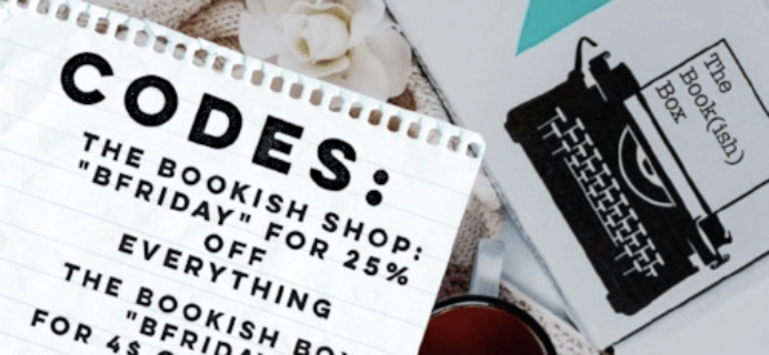 The Bookish Box Black Friday 2017 Coupons: Up to $25 Off!