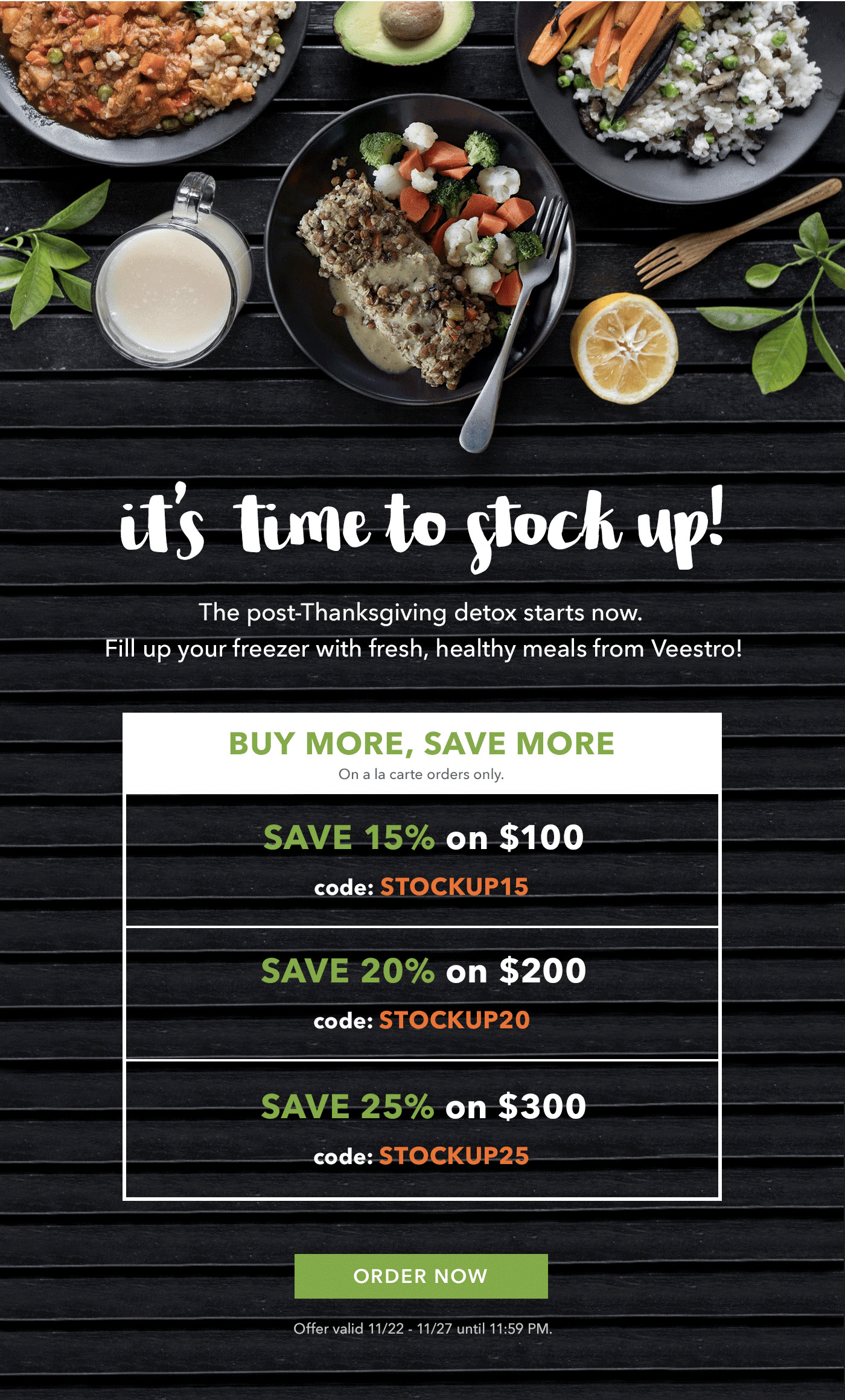 Veestro Plant Based Pre Prepared Meal Delivery Black Friday Coupons Save Up To 30 Hello Subscription