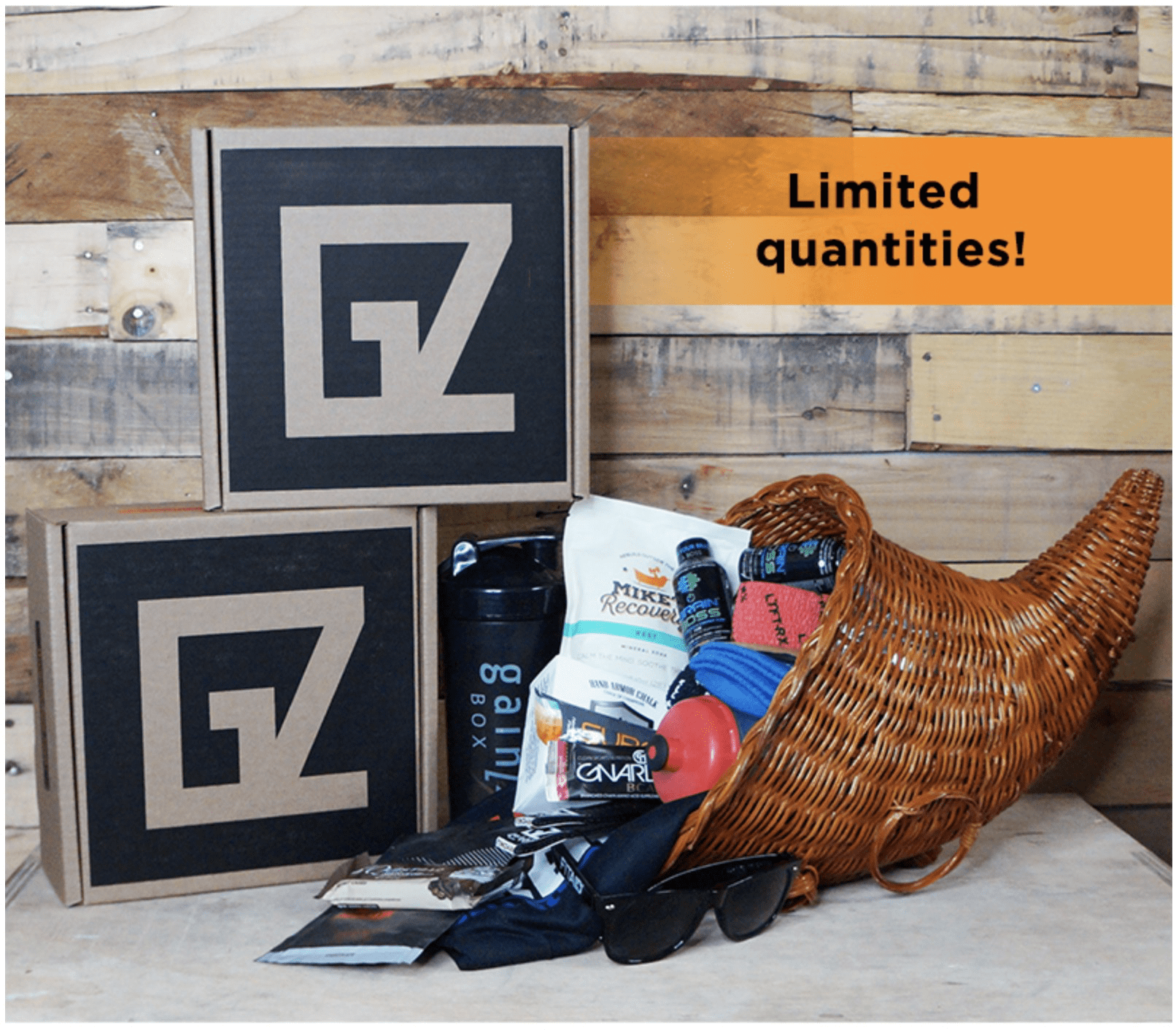 Gainz Box Black Friday Deal: FREE Bonus Box With First Month!