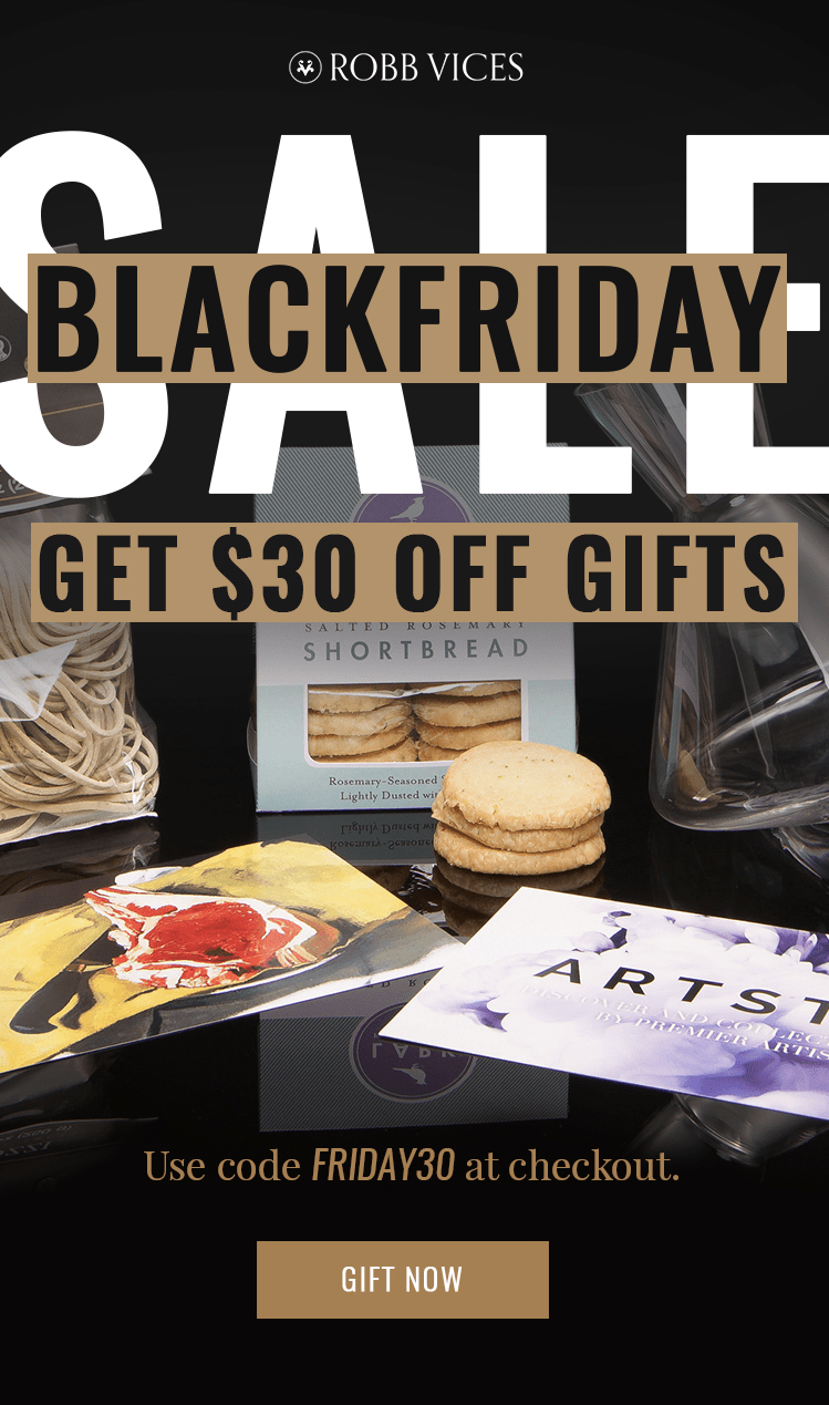 Robb Vices Black Friday Day Coupon: 30$ Off Gifts!