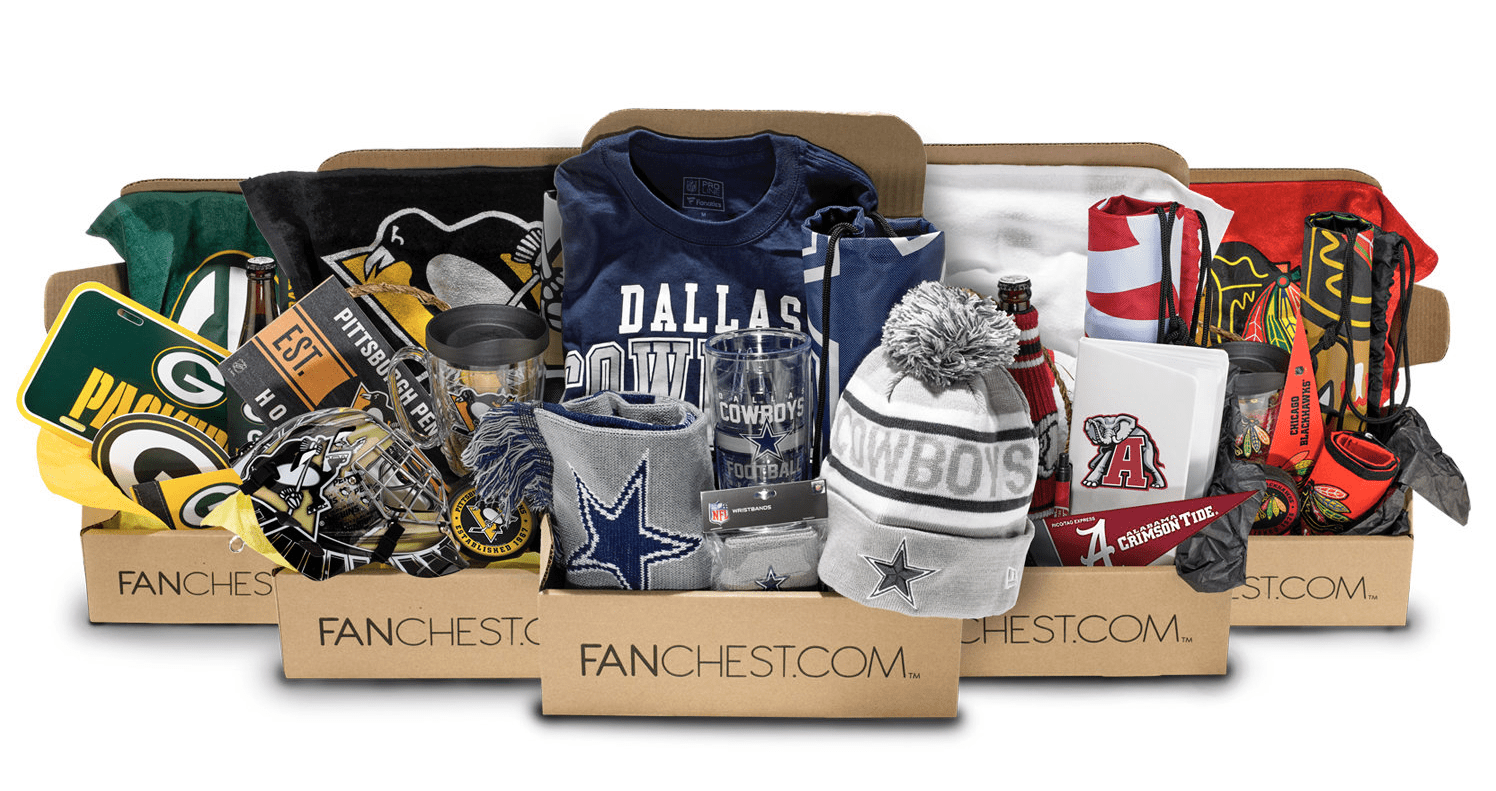 Fanchest Pre Cyber Monday Sports Fan Subscription Box Deal: 20% Off Sitewide!