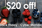Platejoy Cyber Monday Coupon: $20 Off 6+ Month Subscriptions!