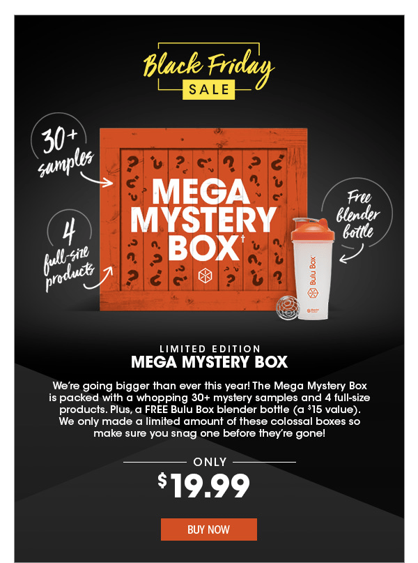 Bulu Box Pre Black Friday Deals Mystery Boxes Hello