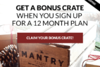Mantry Cyber Monday Deal: Free Extra Box Annual Subscription!