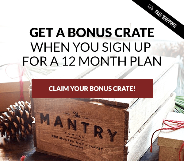 Mantry Black Friday Deal: Free Extra Box Annual Subscription