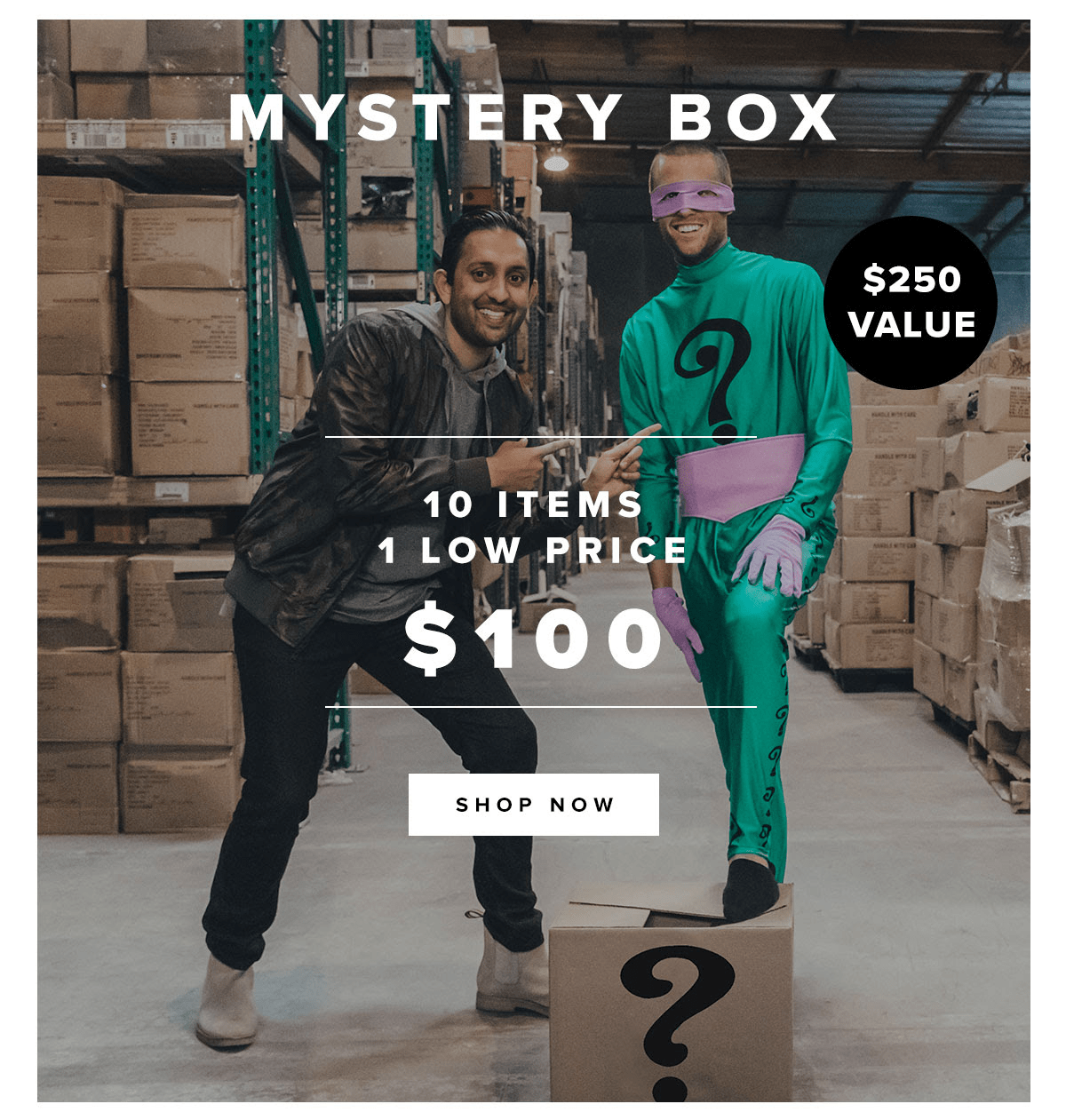 five four club black friday doorbuster epic mystery box 125 hello subscription. Black Bedroom Furniture Sets. Home Design Ideas