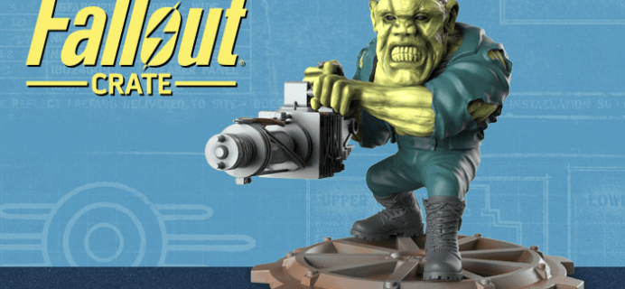 Fallout Crate Cyber Monday Coupon – Save 30% + Mystery Bundles for 3+ Month Subscriptions!