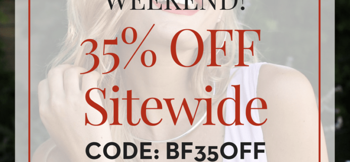 Your Bijoux Box Black Friday Weekend Sale: 35% Off Sitewide + 35% Off Subscriptions!