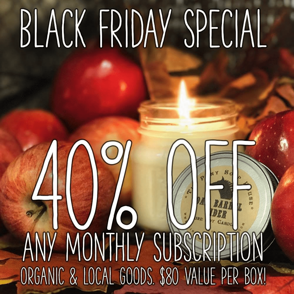 Prospurly Cyber Monday Deal: 40% Off First Box!