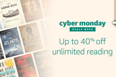 Amazon Kindle Unlimited Cyber Monday Deal: Get 40% Off!
