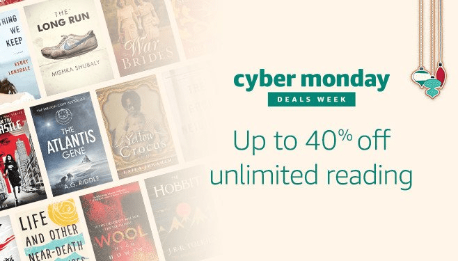 Cyber monday deals amazon kindle