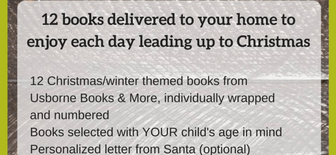 Usborne Books Advent Calendar Ideas + Coupon!
