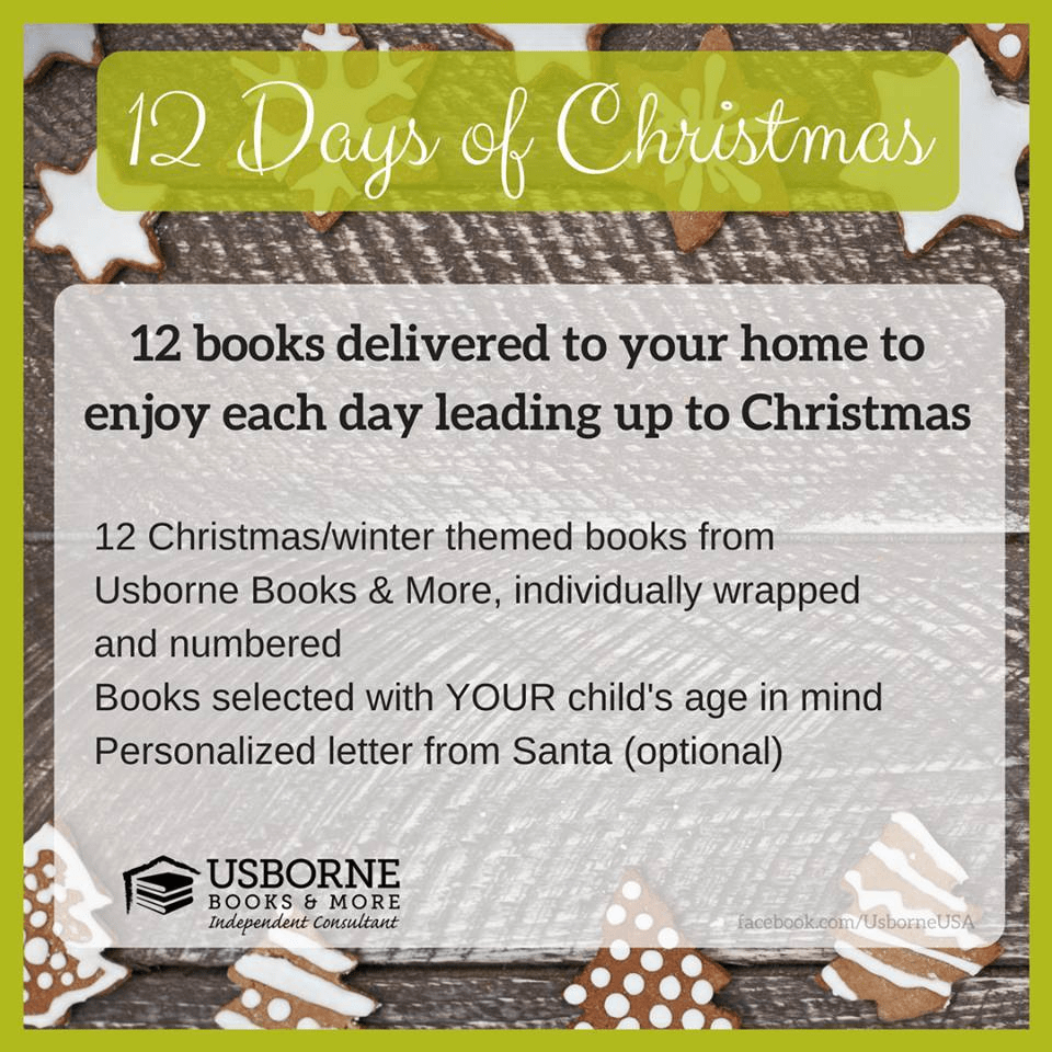 Usborne Books Advent Calendar Ideas  Coupon  Hello Subscription