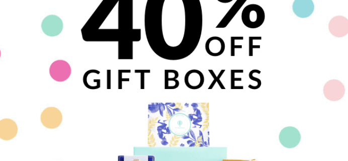 Try the World Cyber Monday Sale: 40% Off Gift Boxes!
