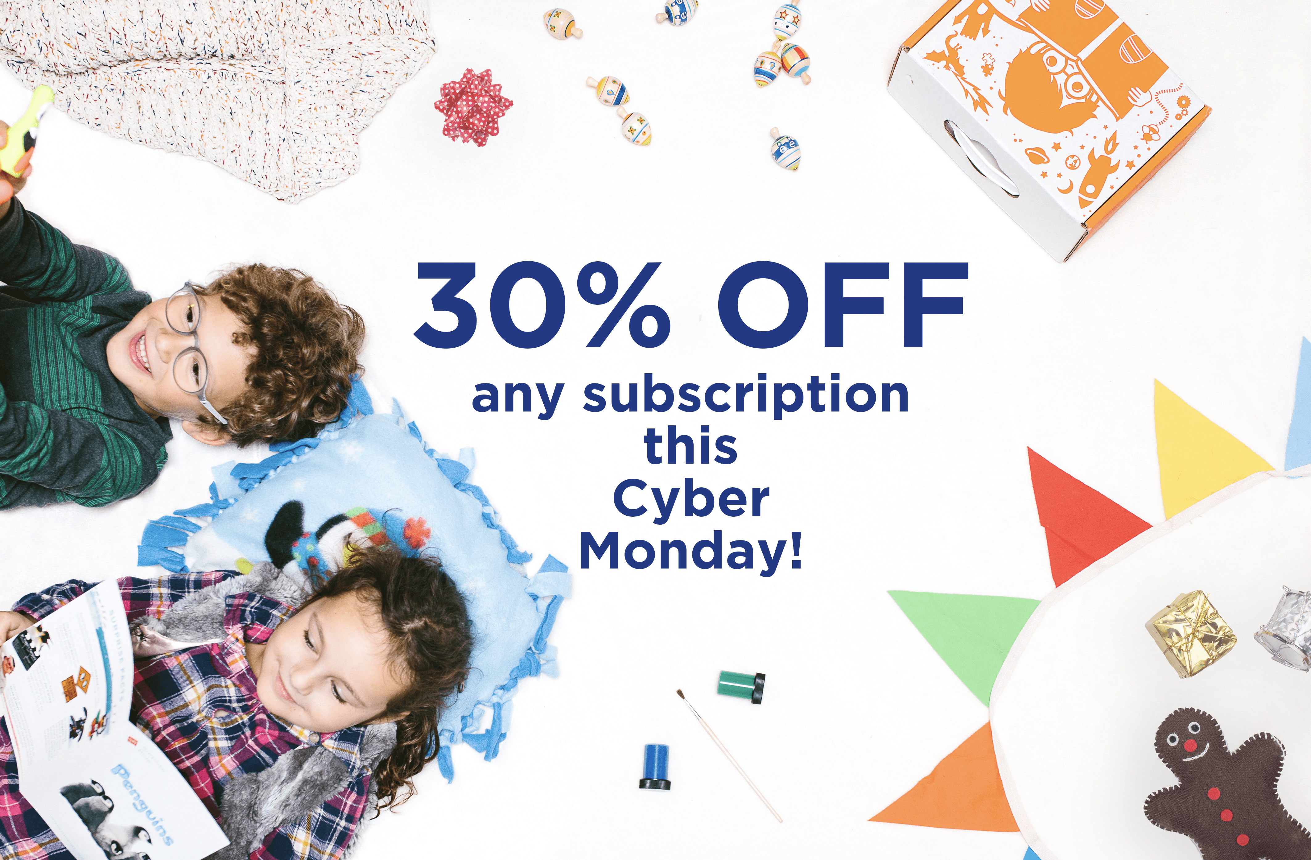 Surprise Ride Cyber Monday 30% Off Deal!