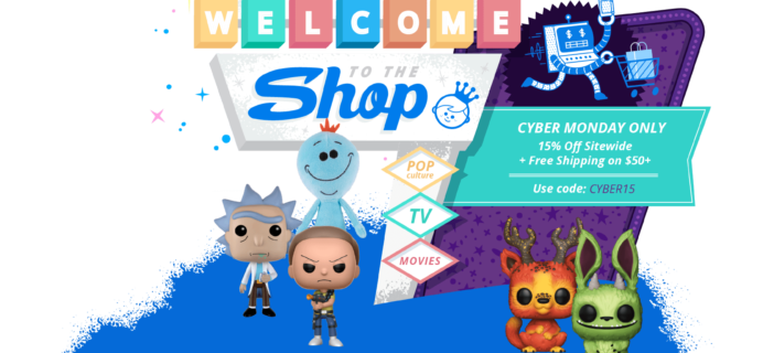 Funko Cyber Monday Sale: Save 15% Entire Purchase!