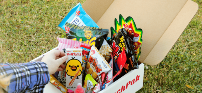 MunchPak Cyber Monday Coupon: 50% Off First Box!