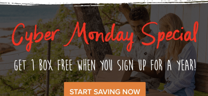 Surf Shop Box Cyber Monday Deal: FREE Month with Annual Subscription!
