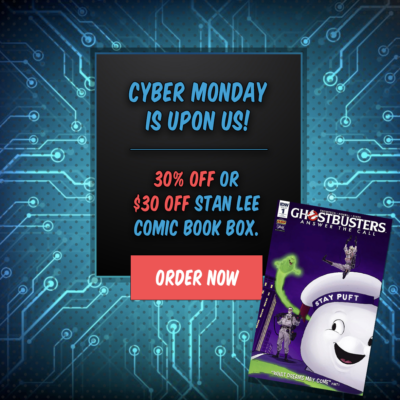 The Stan Lee Comicbook Box Cyber Monday Sale!