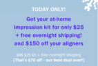 Smile Direct Club Cyber Monday Coupon: Impression Kit – $35 Shipped Overnight! SALE EXTENDED TO THURSDAY!