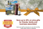 Gold Medal Wine Club Cyber Monday Sale: LAST CHANCE! SALE ENDS AT NOON PACIFIC!