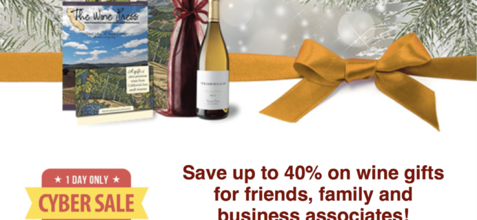 Gold Medal Wine Club Cyber Monday Sale: ONE DAY ONLY!