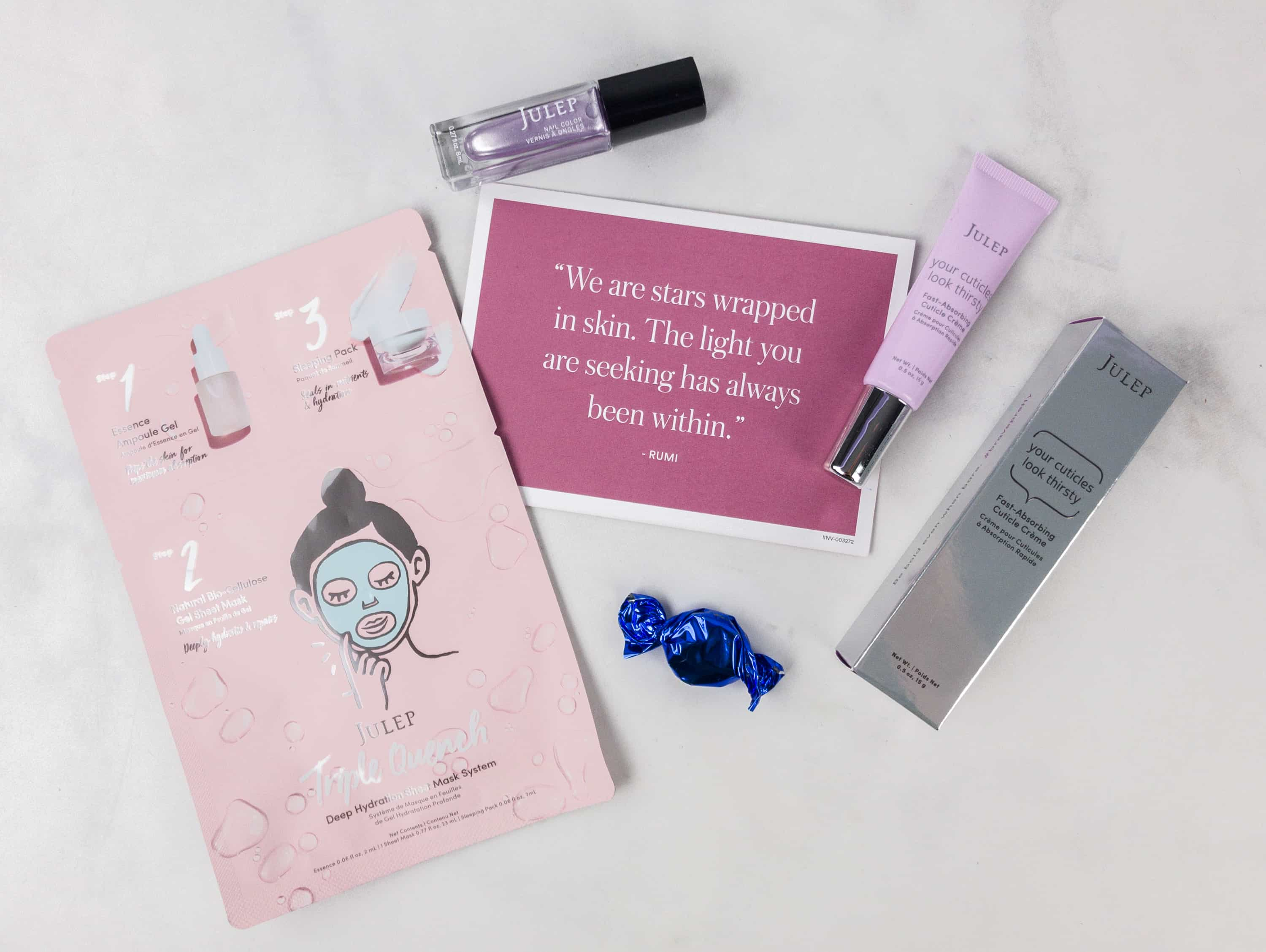 Julep Beauty Box November 2017 Subscription Box Review + Free Box Coupon!