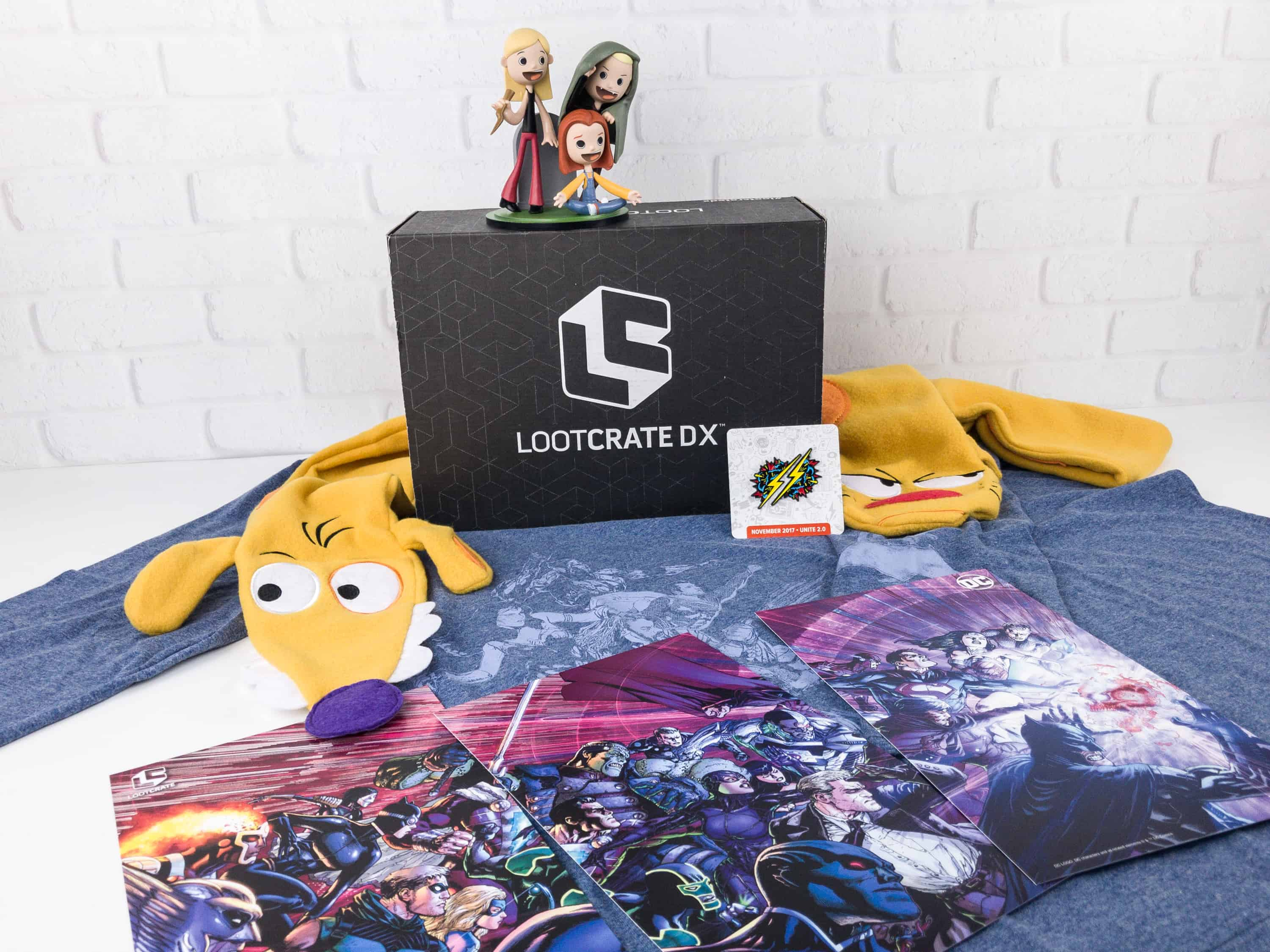 Loot Crate DX November 2017 Subscription Box Review & Coupon