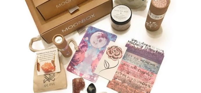 MoonBox 2017 Black Friday Coupon: Get 15% off your first box!