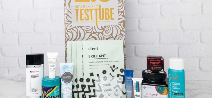 New Beauty Test Tube November 2017 Subscription Box Review + Coupon